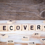 Tiles that spell out recovery, to suggest recover after balloon sinuplasty and other related procedures.