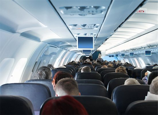 A view of the interior of an airpline tends to conjure feelings of excitement however if you suffer from sinus pain it could be a nightmare.